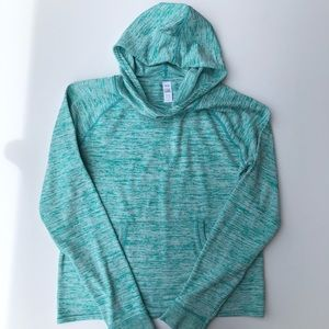 Athleta Girl | Blue Turquoise Hoodie Sweater